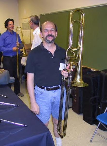 Double Contrabass Trombone f Contrabass Trombones